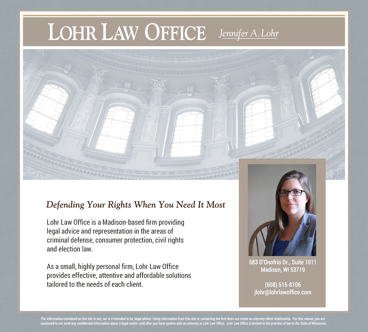 Lohr Law Office, Madison, WI